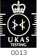 UKAS Accredited Testing
