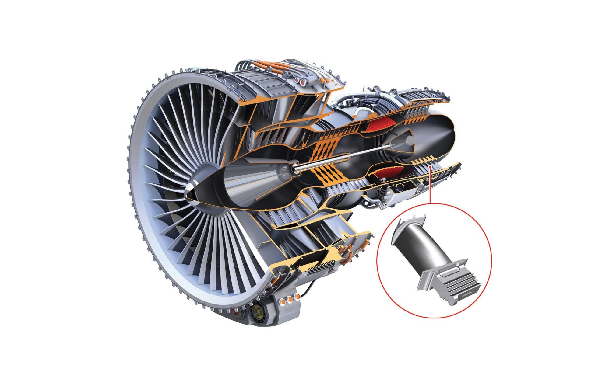 Aircraft Engine & Turbine Blade